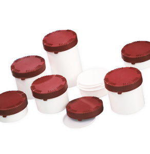 CurTec Small Plastic Jars