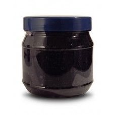 PET 1270ML  ROUND 1.2L BLACK JAR 110MM