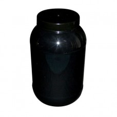 PET 4080ML ROUND 4LTR BLACK JAR 110MM
