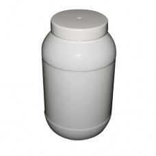 SPECIAL OFFER PET 4080ml ROUND 4L WHITE JAR