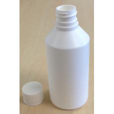 ROUND WHITE HDPE BOTTLE - 100 ml G.P