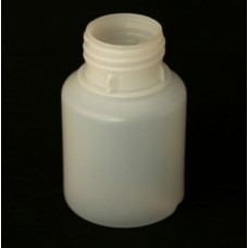 ROUND HDPE BOTTLE - 125 ml G.P Wide Neck