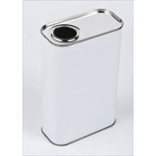 1 Litre Rectangular Berg Top Tin