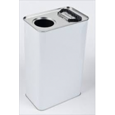 5 Litre Rectangular Berg Top Tin