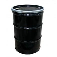 205 litre Black Steel Drum - UN Approved