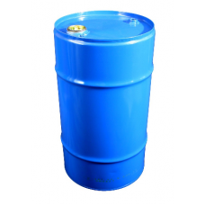 57 litre Internally PLAIN Blue Steel Drum - UN Approved