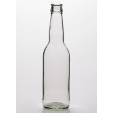 330ml Clear Beer Bottle