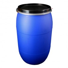 LARGE PLASTIC OPEN TOP DRUM - 220 LITRE