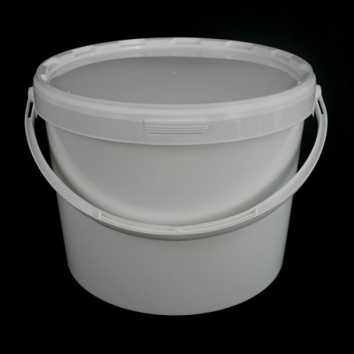 16 Litre Plastic Round Tapered Bucket Food Safe Storage